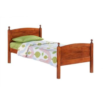 Licorice Twin Size Bed - 5-year warranty