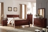 Louis Philippe Queen size bed 23750Q