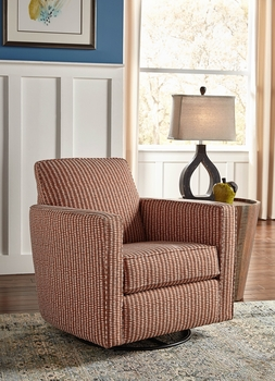 Custom Made in USA swivel glider model # 0402-90 Living room