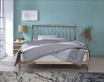 Marianne Queen Metal Bed #22690Q