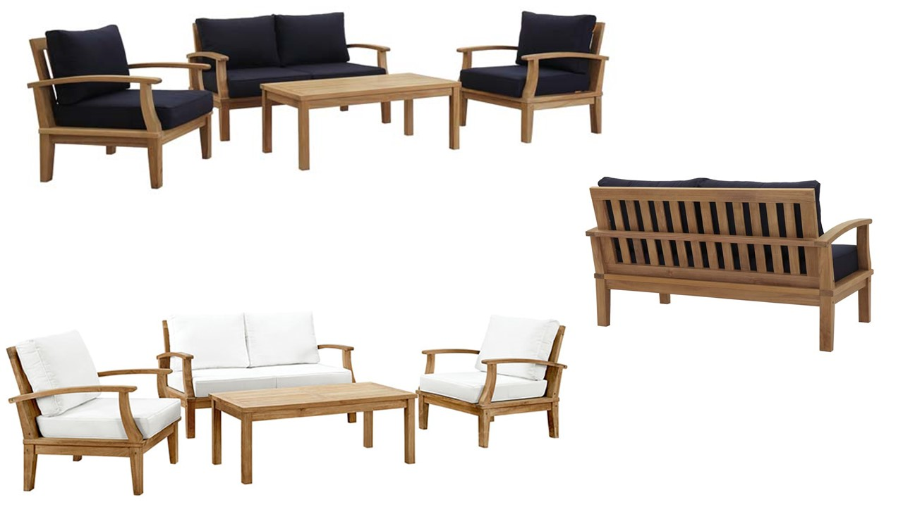 Pleasant Outdoor Patio Wooden Sofa Patio Teak Armchair Teak Coffee Caraccident5 Cool Chair Designs And Ideas Caraccident5Info
