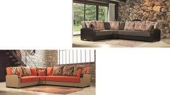 Megamax Sectional sleeper with Storage