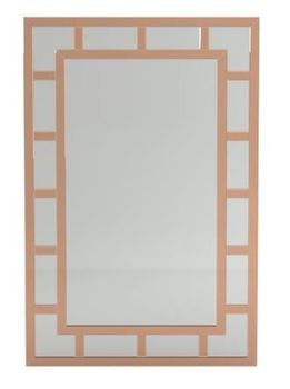 Rectangle Mirror Silver And Vintage Gold # 962886