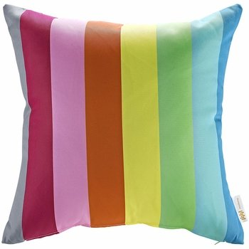 MODWAY OUTDOOR PATIO PILLOW IN RAINBOW