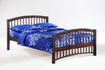 Molasses Full Size Bed - 5-year warranty