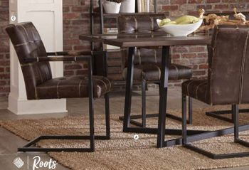 5PC Oakville Dining Table with chairs Collection