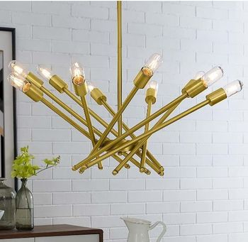 Cherish Brass Metal Pendant Light