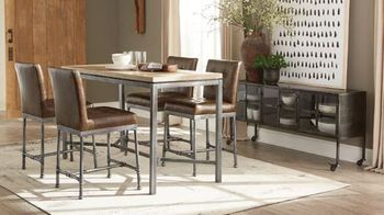 5PC Heaton Counter Height Table with Stools Collection