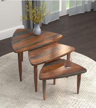 Nesting table made in India # 931231