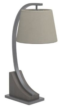 Empire Shade Table Lamp Oatmeal Brown And Orb