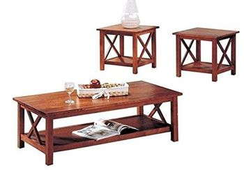 3PC Coffee Table Occasional Set
