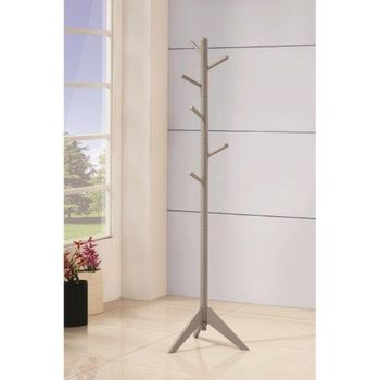 Floor Model Coat Rack with Six Pegs