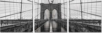 Premium Acrylic Wall Art Brooklyn Bridge Classic - SH-71438ABC