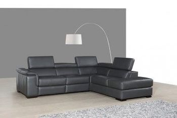 Agata Premium Leather Sectional