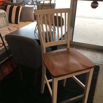 Floor Model Bar Solid Stool