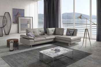 The Prive Leather Sectional