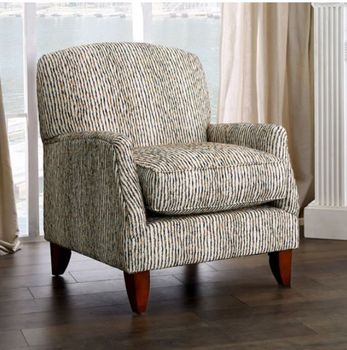 Made in USA BROMLEY Accent Chair SM5244-CH-ST