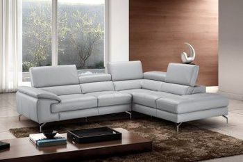 Olivia Premium Leather Sectional