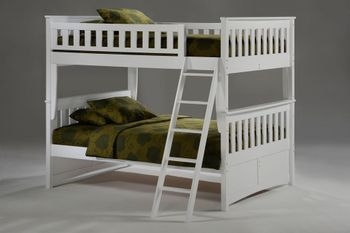 Ginger Full/Full Bunk with Storage - 10-year warranty