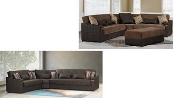 Midtown Sectional sleeper with Storage