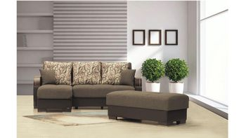 Maxymoda Sectional size sleeper with Storage