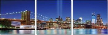 Premium Acrylic Wall Art Brooklyn Bridge  - SH-71181ABC
