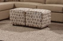 Custom Made in USA Cube Ottoman Model # 2020-X