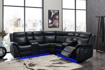 Power Motion Reclining Sectional UM02