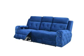 Power Motion Velvet Reclining Sofa U8311