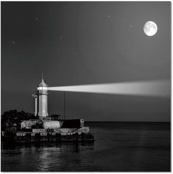 Premium Acrylic Wall Art Light House - SH-71594A