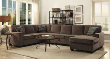 Provence Storage Sectional Brown 501686