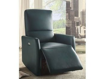 Raff Leather-Aire Recliner chair # 59407