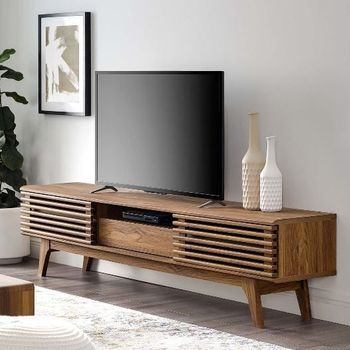 "Render 70"" TV Stand in Walnut 3305"