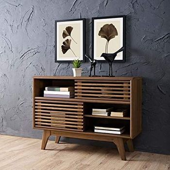 Render Display Stand in Walnut 2542