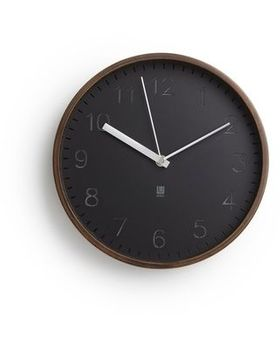Rimwood Wall Clock or Stand on a surface clock
