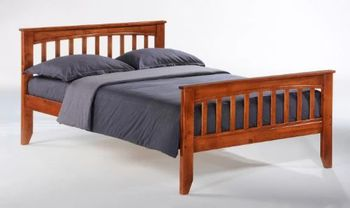 Sasparilla Twin Size Bed - 5-year warranty