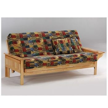 Seattle Moonglider Front Operating Full Size Futon Frame / 10 Year Warranty