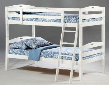 Sesame Twin/Twin Size Bunk Bed - 5-year warranty