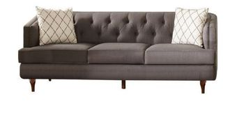 Shelby Recessed Arms And Tufted Tight Back Sofa 508951