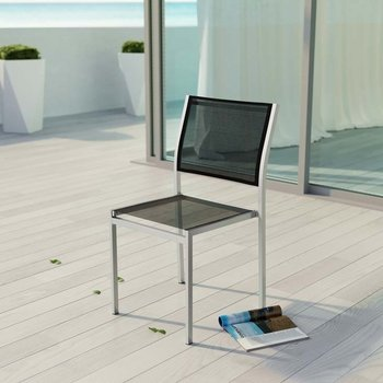 SHORE OUTDOOR PATIO ALUMINUM 2259 SIDE CHAIR