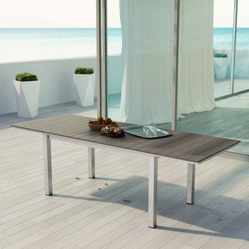 SHORE OUTDOOR PATIO WOOD 2257 DINING TABLE