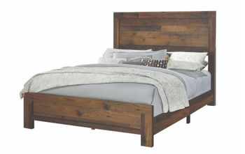Sidney Twin Panel Bed Rustic Pine # 223141T