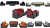 SOJOURN 7 PIECE OUTDOOR PATIO SUNBRELLA� SECTIONAL SET