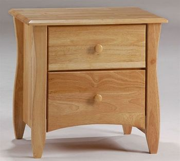 Spice 2 Drawer Nightstand - 10 years warranty