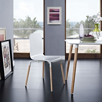 Stack Dining Wood Side Chair 1054