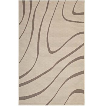 SURGE SWIRL ABSTRACT 5X8 INDOOR AND OUTDOOR AREA 1138A RUG