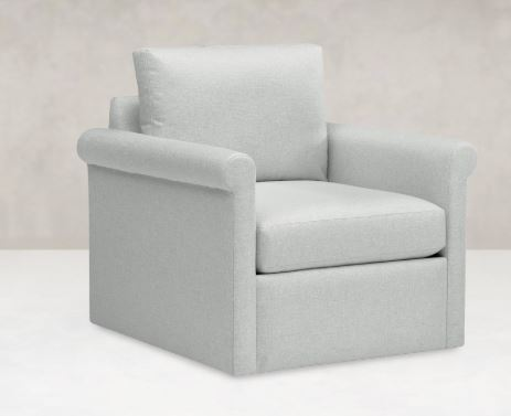 Contemporary made in USA living room MONDAY SWIVEL CHAIR VA ...