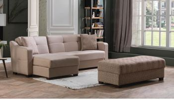 Tahoe Sectional Size Sleeper with Storage
