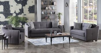 Tahoe Sofa Size Sleeper with Storage