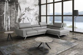 The Mood Sectional in Grey
